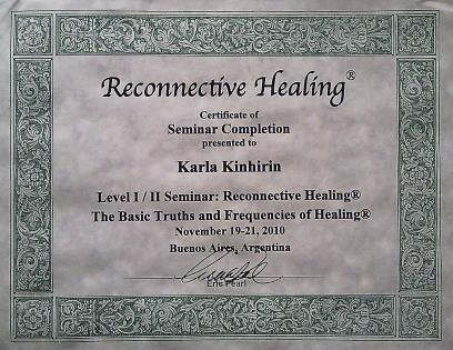 Certificado seminário I e II