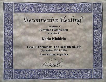 Certificado seminário III
